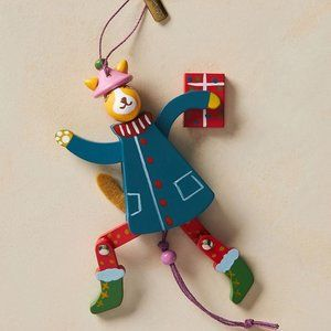 Anthropologie Sly Fox Marionette Ornament Xmas